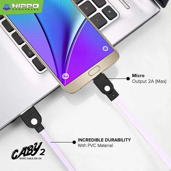 Caby 2 microUSb Cable