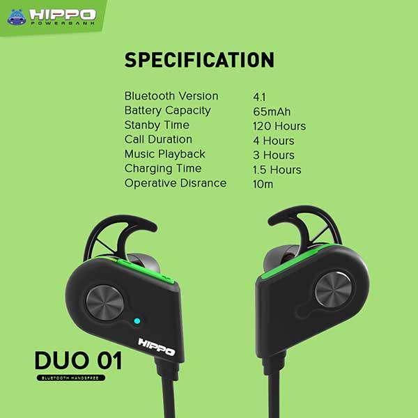 Duo 01 Bluetooth Headset