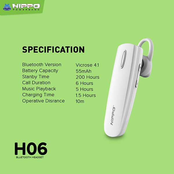 H-06 Bluetooth Headset