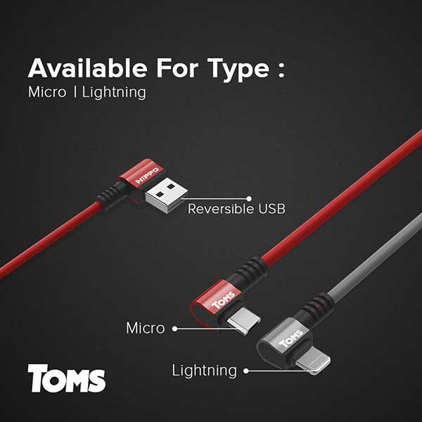 Toms microUSB Cable