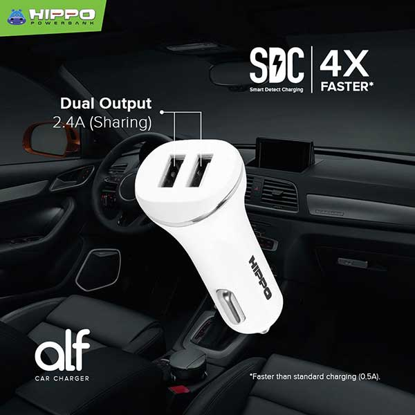 Hippo Car Charger Alf