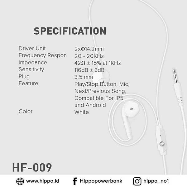 HF-012 Earphone