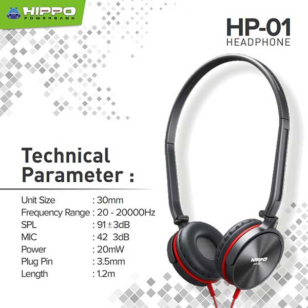 Hippo Headphone HP-01