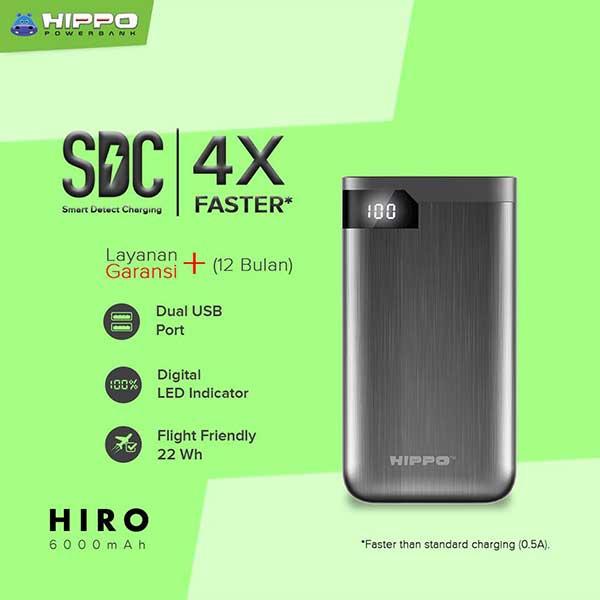 Hiro 6000mAh