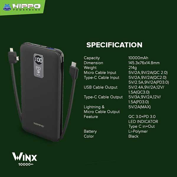 Winx 10000mAh
