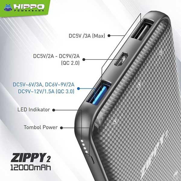 Zippy 2 12000mAh