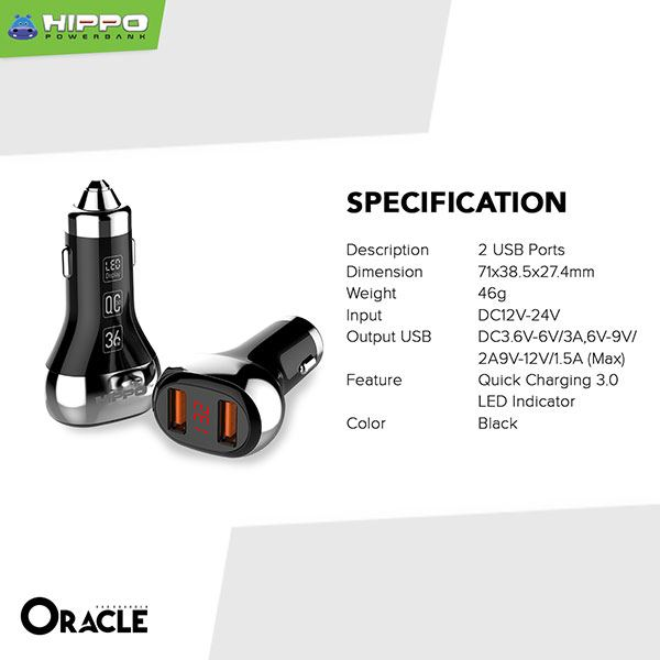 Hippo Car Charger Oracle