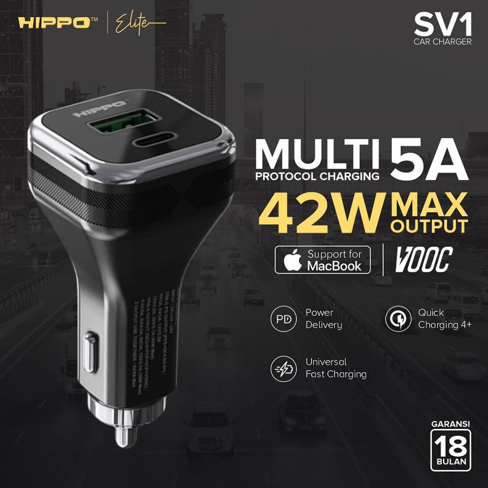 Hippo Elite - SV1 Multiprotokol Car Charger