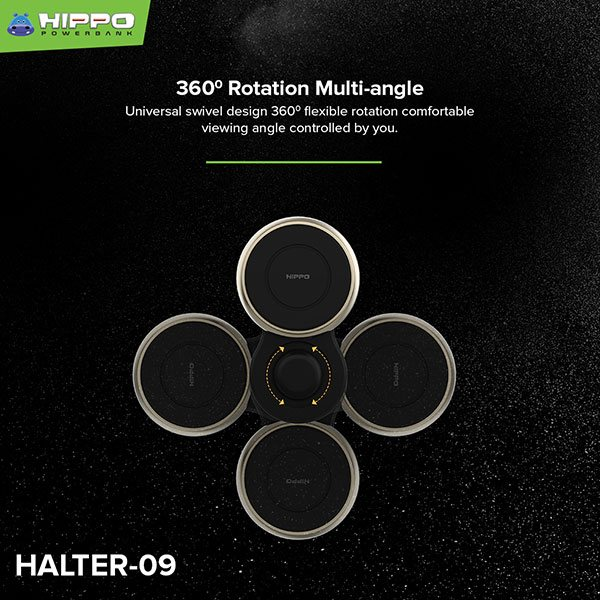 Hippo Phone Holder Halter-09