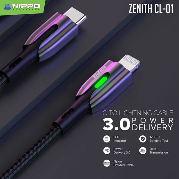Hippo Cable Zenith CL-01 C to Lightning