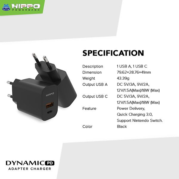Hippo Adapter Dynamic-PD