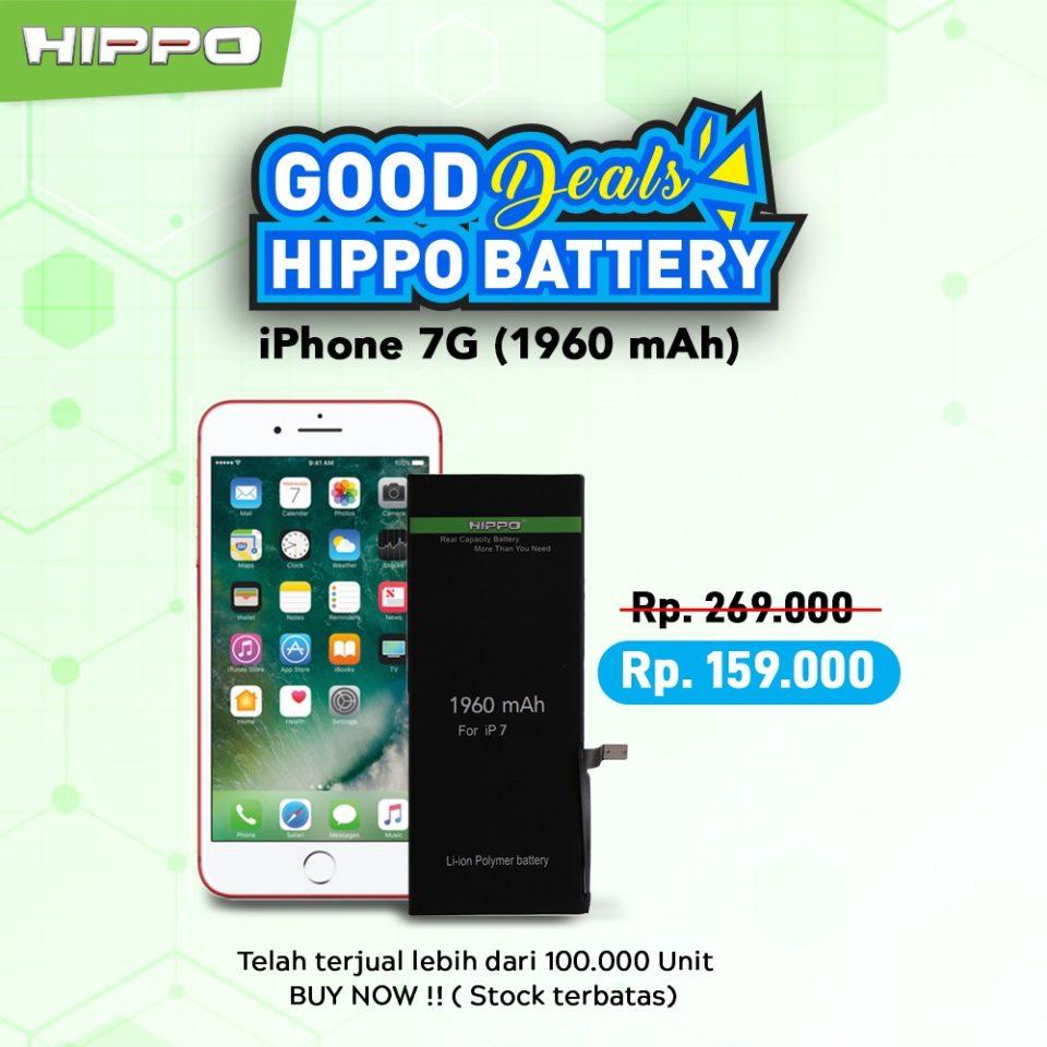 Battery Hippo Ori iPhone 7
