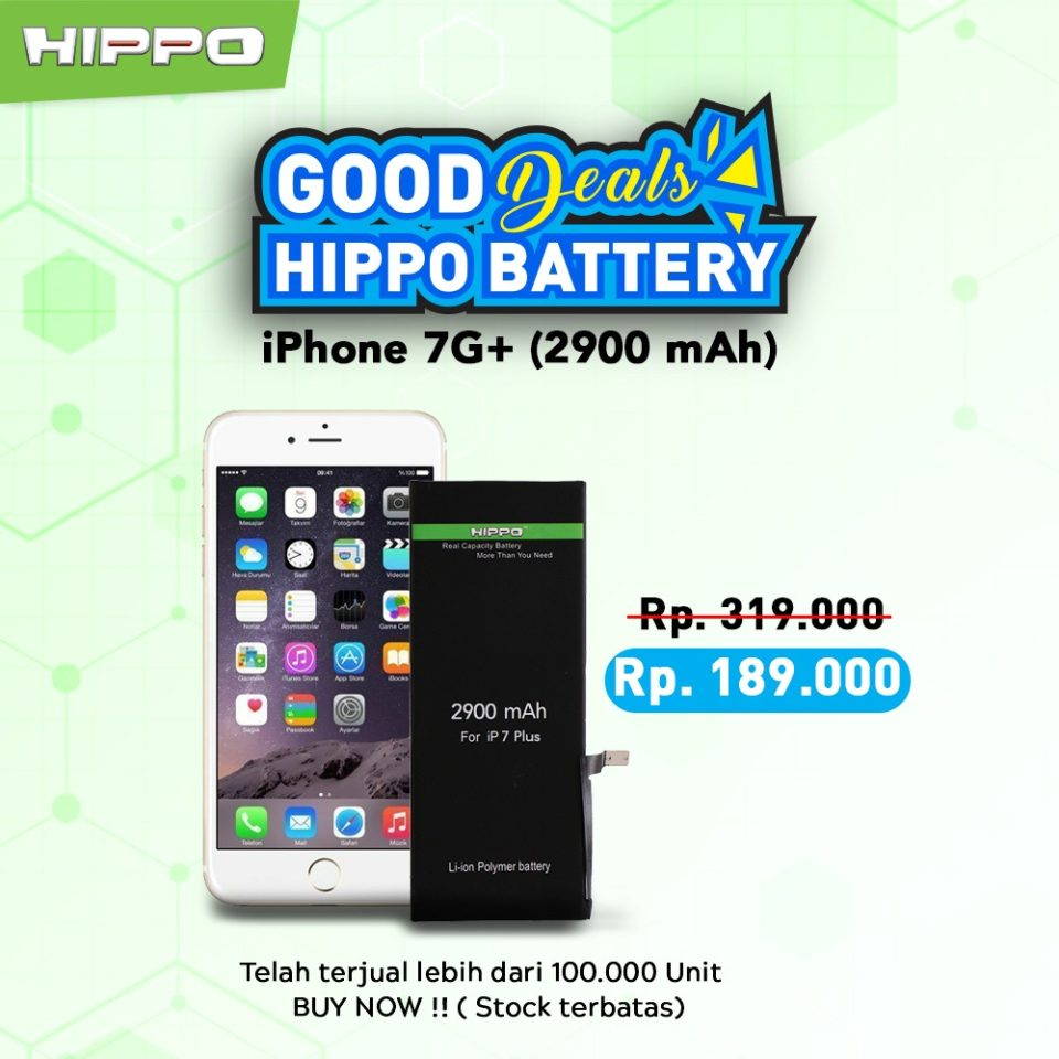Battery Hippo Ori iPhone 7 Plus