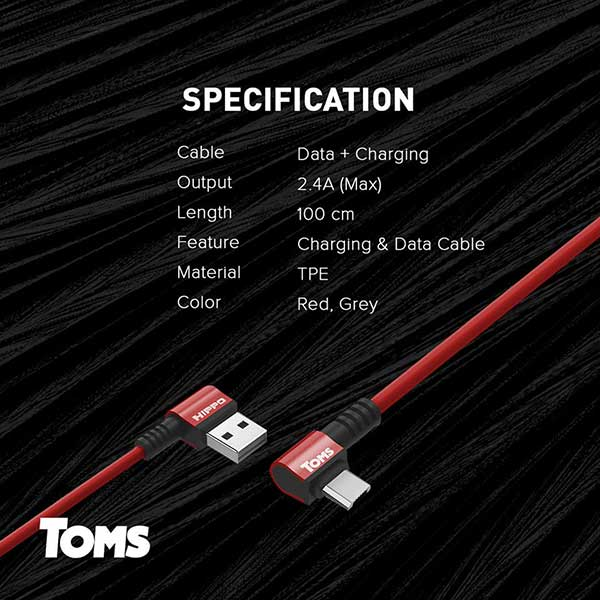 Toms microUSB