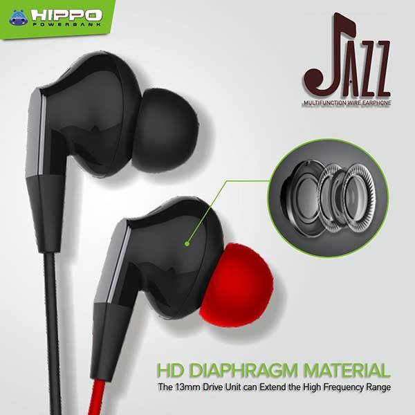 Hippo Earphone Jazz