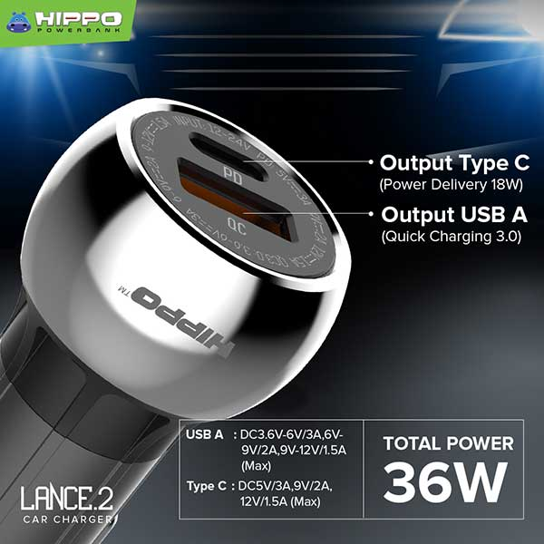 Lance 2 Car Charger