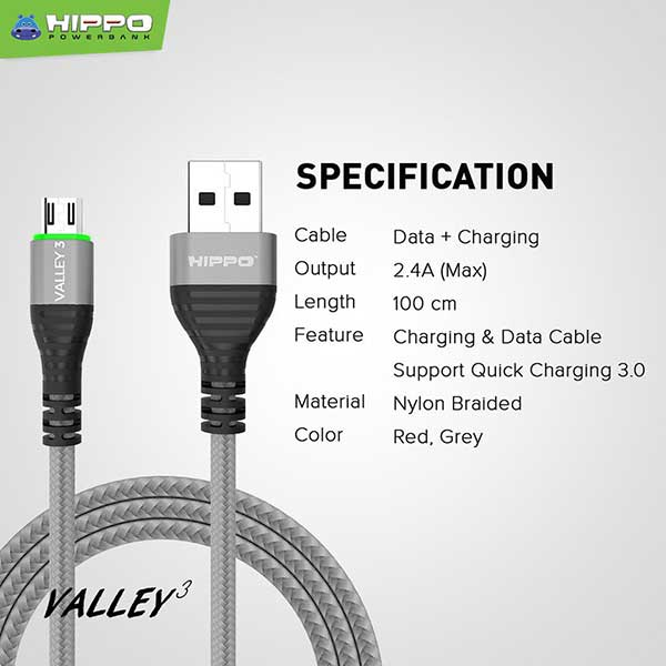 Valley 3 microUSB