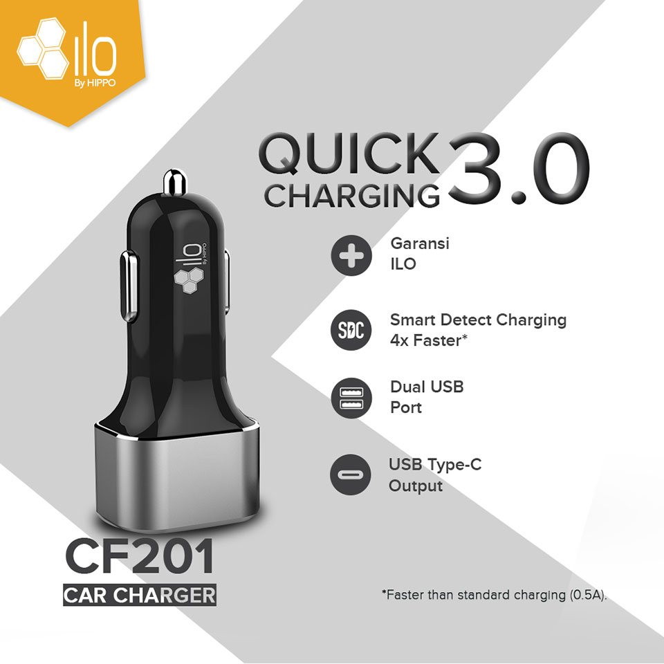 ILO Car Charger CF201