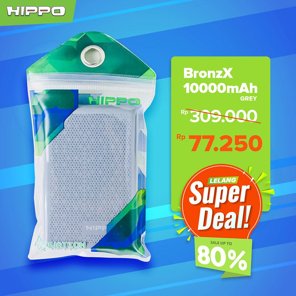 Hippo Powerbank Bronz X 10000mAh