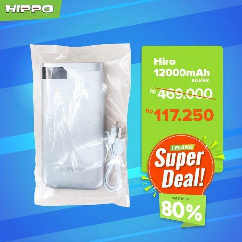 Hippo Powerbank Hiro 12000mAh