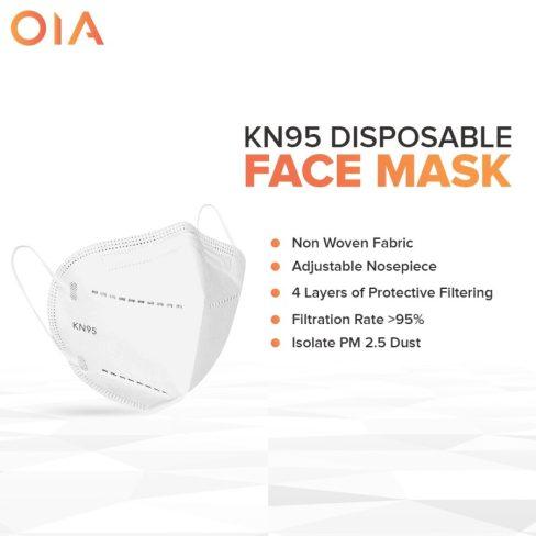 Masker N95 Disposable Facemask