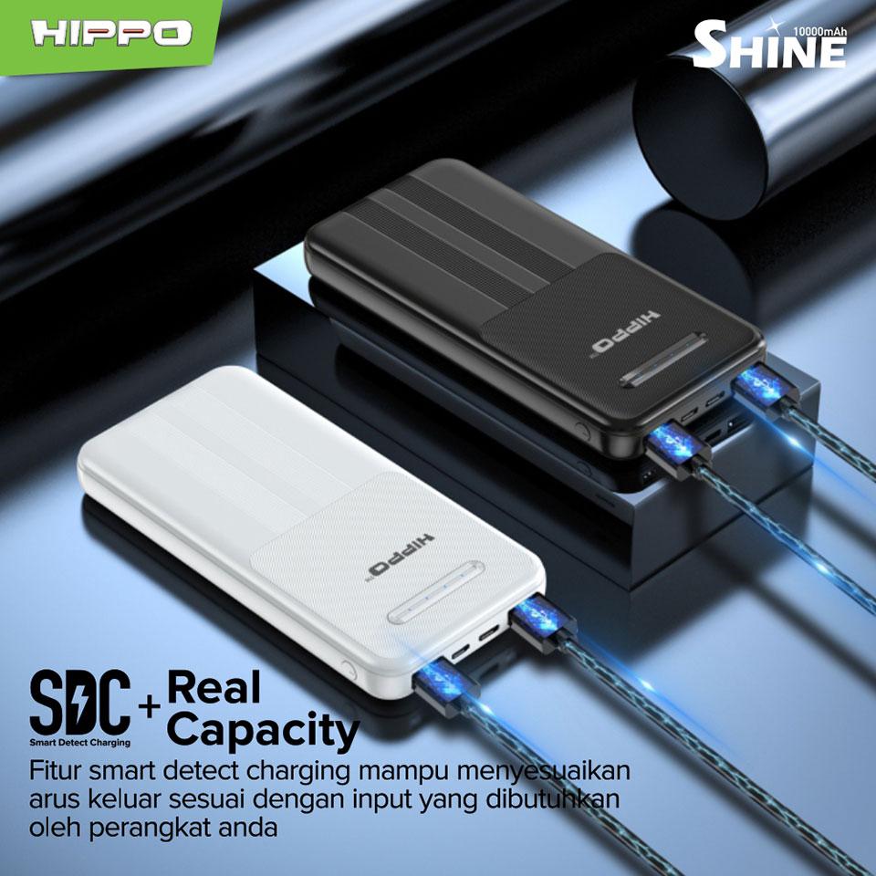Hippo Powerbank Shine 10000mAh