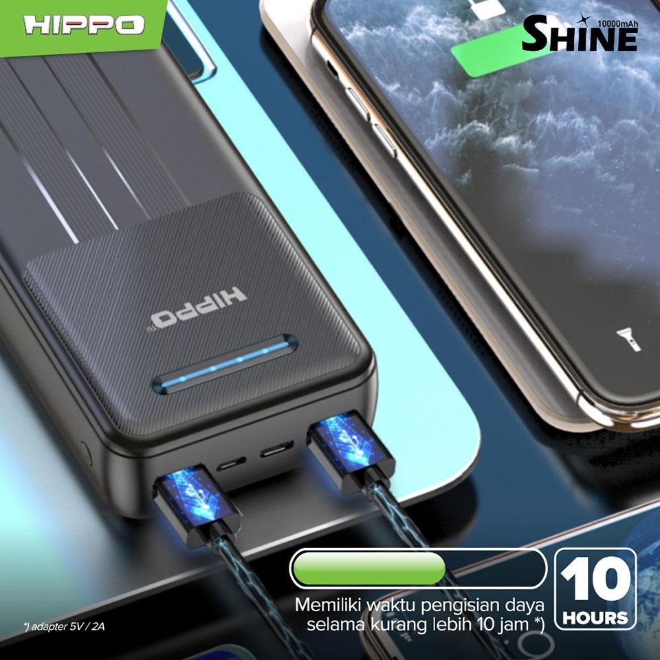 Hippo Powerbank Shine 20000mAh