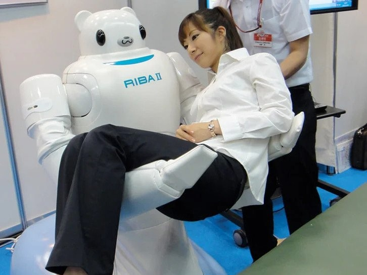 RIBA (Robot for Interactive Body Assistance)